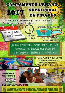 Campamento de Verano 2017 @ Navalperal de Pinares
