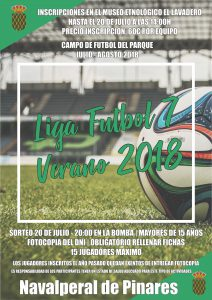 Torneo de Fútbol 7 @ Parque Municipal - Navalperal de Pinares