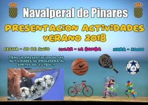 Presentación Actividades Deportivas - Sorteo Fútbol 7 @ Edificio Multiusos La Bomba