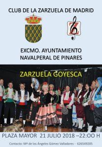 Zarzuela en Directo en la Plaza Mayor @ Plaza Mayor - Navalperal de Pinares
