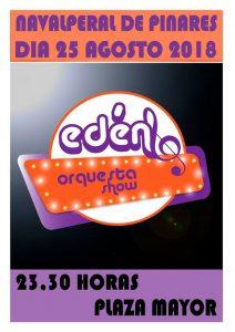Verbena - Orquesta Eden Show @ Navalperal de Pinares