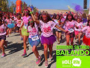 Primera Carrera de Colores - HoliRun @ Navalperal de Pinares