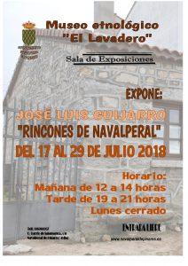 """Exposición """"Rincones de Navalperal"""" de José Luis Guijarro @ Museo Etnológico"""