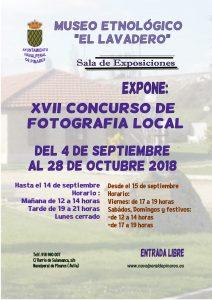 """Exposición """"XVII Concurso de Fotografía Local"""" @ Museo Etnológico"""