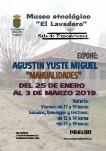 """Exposición """"Manualidades"""" de Agustín Yuste Miguel @ Museo Etnológico"""