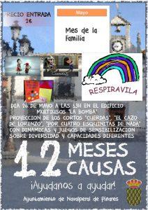 """Mes de la Familia - Proyección de cortos y juegos de sensibilización @ Centro Multiusos """"La Bomba"""""""