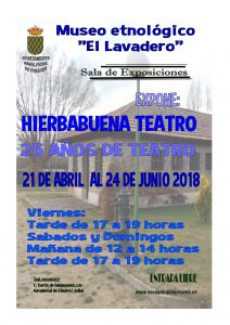 """Exposición """"25 años de Teatro"""" @ Museo Etnológico"""