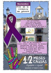 """Charla Mes de la Violencia de Género - Asociación Avivig @ Centro Multiusos """"La Bomba"""""""