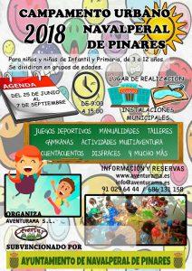 Campamento Urbano 2018 @ Navalperal de Pinares