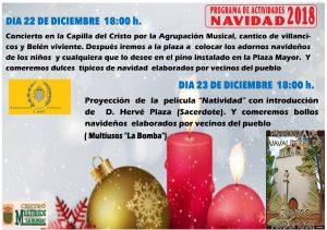 Concierto de Navidad 2018 @ Capilla del Cristo