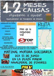 Matinal Motera Solidaria @ Plaza Mayor