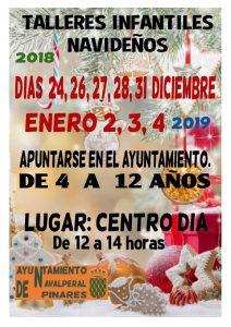 Talleres Infantiles Navideños @ Centro de Día