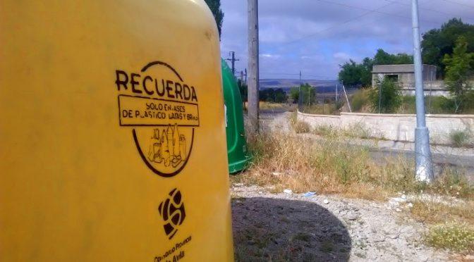 Instalación de Nuevos Contenedores de Recogida de Reciclaje