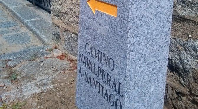 Inauguración de los Mojones del Camino de Santiago