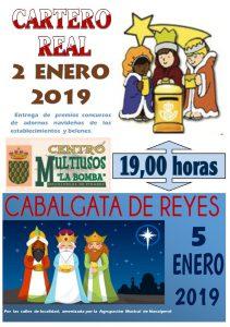 Cartero Real y Entrega de Premios @ Edificio Multiusos - Navalperal de Pinares