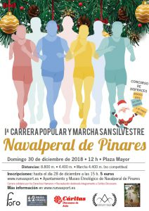 San Silvestre 2018 @ Plaza Mayor - Navalperal de Pinares