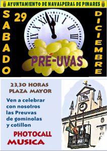 Pre-uvas 2018 @ Plaza Mayor - Navalperal de Pinares