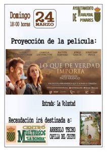 Cine - Lo que de verdad importa @ Edificio Multiusos - Navalperal de Pinares