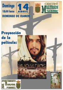 Película Hijo de Dios @ Edificio Multiusos - Navalperal de Pinares