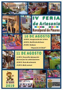 IV Feria de Artesanía @ Plaza Mayor - Navalperal de Pinares