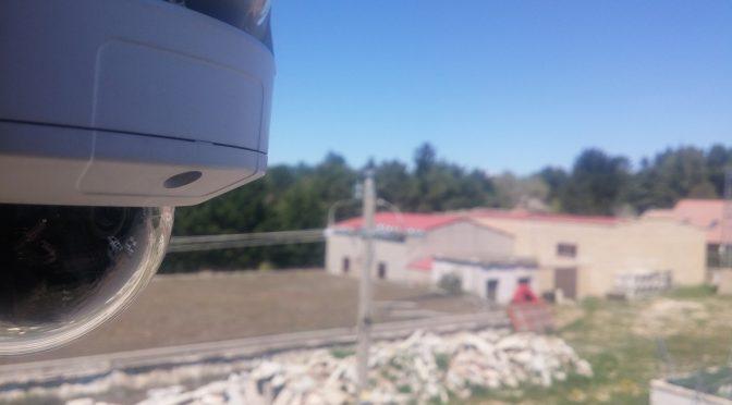 Nueva cámara de vigilancia en la ETAP