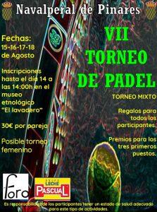 VII Torneo de Pádel @ Pista de Pádel