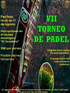 VII Torneo de Padel @ Pista de Padel