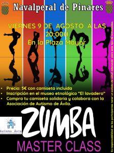 Zumba Master Class 2019 @ Plaza Mayor - Navalperal de Pinares