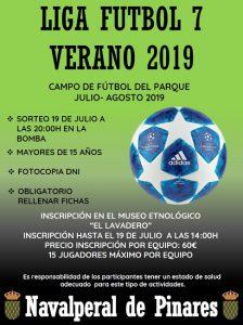 Liga Futbol 7 2019 @ Parque Municipal - Navalperal de Pinares