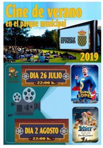 Cine de Verano @ Parque Municipal - Navalperal de Pinares