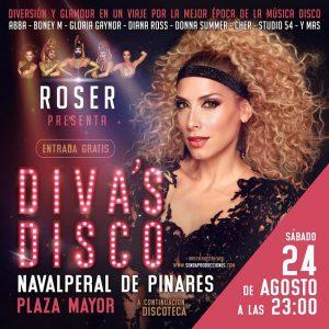 Concierto Diva's Disco de Roser @ Plaza Mayor - Navalperal de Pinares