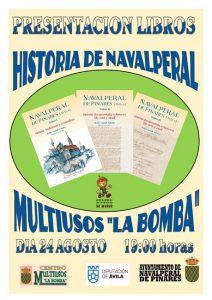 Presentación de los Libros sobre la Historia de Navalperal @ Edificio Multiusos - Navalperal de Pinares