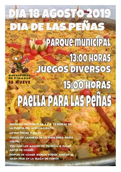 Día de las Peñas @ Parque Municipal - Navalperal de Pinares