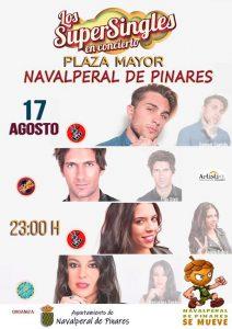 Los Supersingles - El último Guateque @ Plaza Mayor - Navalperal de Pinares