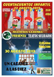 Teatro - Grupo Hierbabuena @ Edificio Multiusos - Navalperal de Pinares