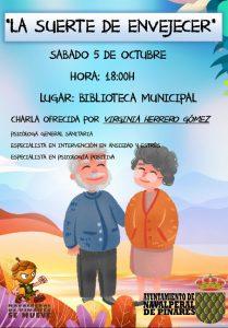 "Charla ""La Suerte de Envejecer"" @ Biblioteca Municipal"