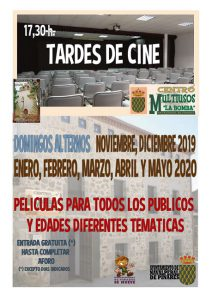 Tardes de Cine @ Centro Multiusos La Bomba
