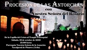 Procesión de las Antorchas @ Parroquia Nuestra Señora de la Asunción