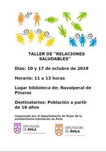 """Taller de """"Relaciones Saludables"""" @ Biblioteca Municipal"""