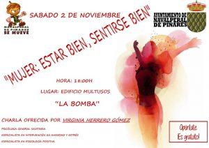 """Charla """"Mujer:Estar bien, sentirte bien"""" @ Centro multiusos """"La Bomba"""""""
