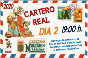 Cartero Real y Entrega de Premios Concursos de Navidad @ Plaza Mayor