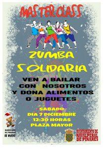 MasterClass de Zumba Solidaria @ Plaza Mayor