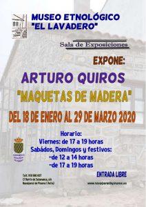Exposición Maquetas de Madera @ Museo Etnológico