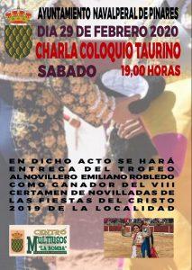 Charla Taurina @ Centro Multiusos La Bomba